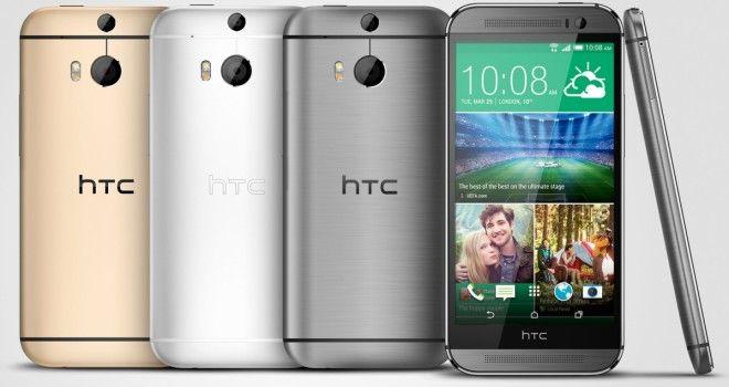 Samsung har fått mye tyn for å bruke plast som konstruksjonsmateriale. Etter alt å dømme er HTC One (M8) målskiven koreanerne sikter på hvis det dukker opp en oppgradert Galaxy S5.Foto: HTC