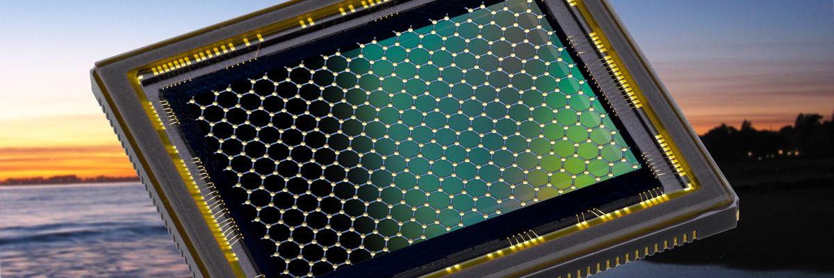Grafén kan gjøre bildebrikken tusen ganger mer lysfølsom