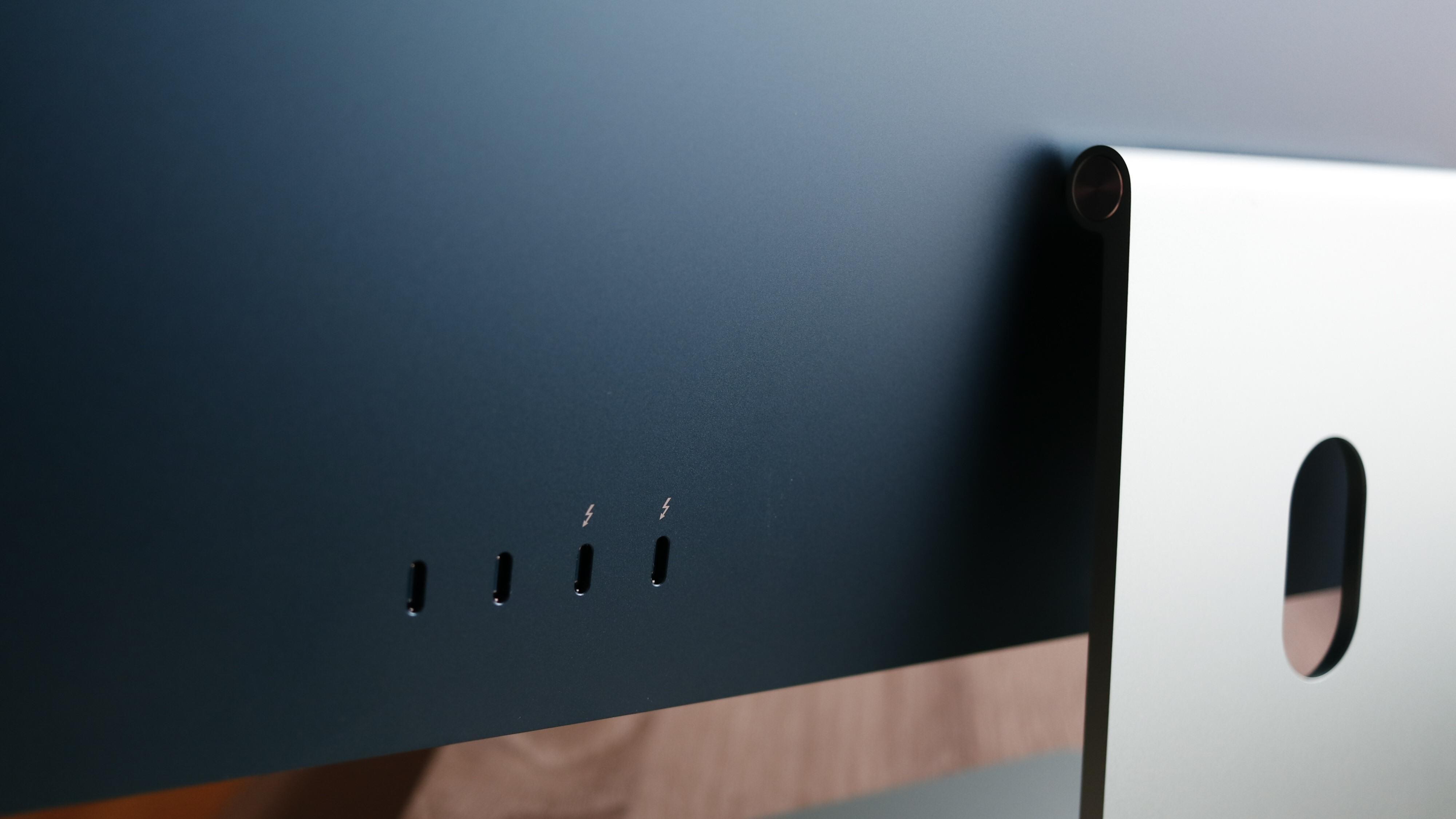 Nye Apple iMac har kun to eller fire porter, alt ettersom hvilken utgave du velger. Men det meste er tross alt innebygd.