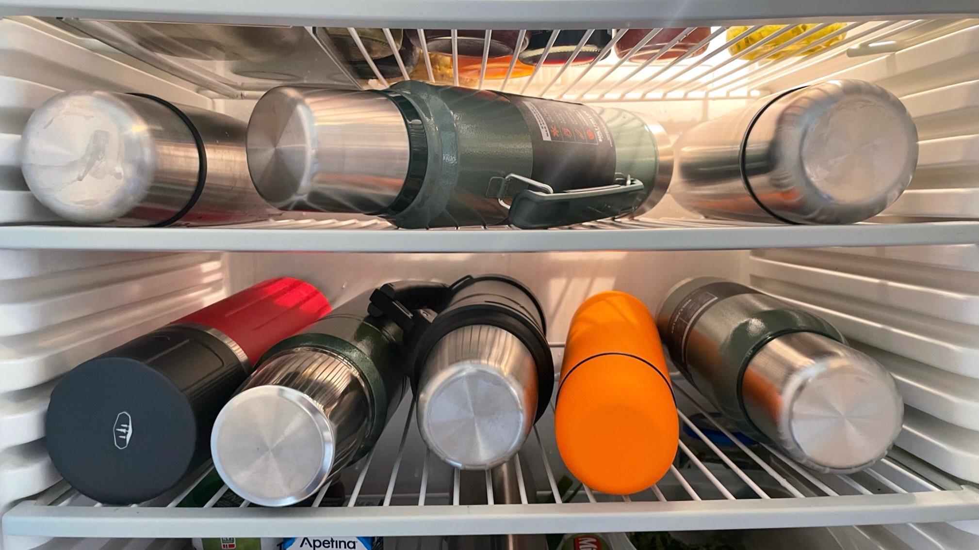 Fra en av flere runder i kjøleskapet.