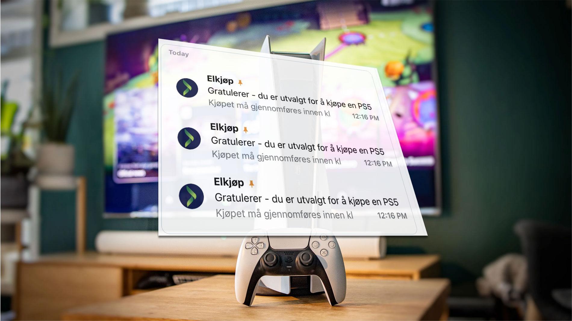 Butikkene om PS5-«scalpere»: – Ordrene blir kansellert og ikke utlevert