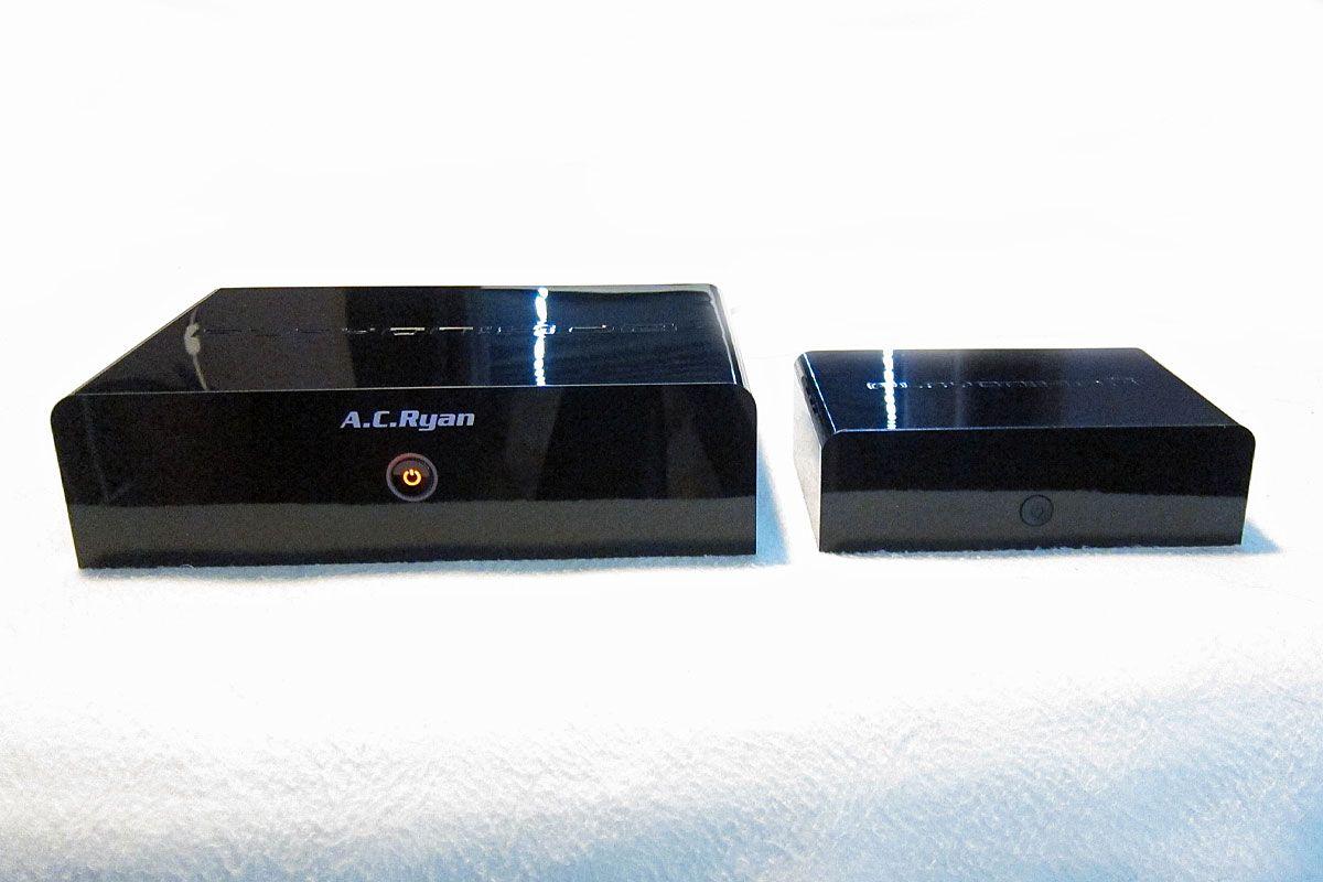 HD2 er en del større enn HD2 Mini.