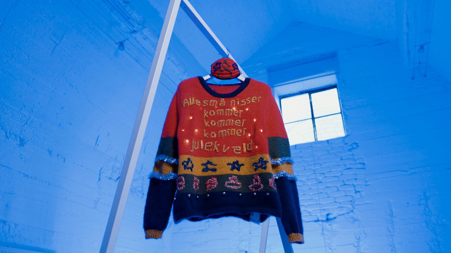 Denne genseren mener maskinen er den styggeste av dem alle.