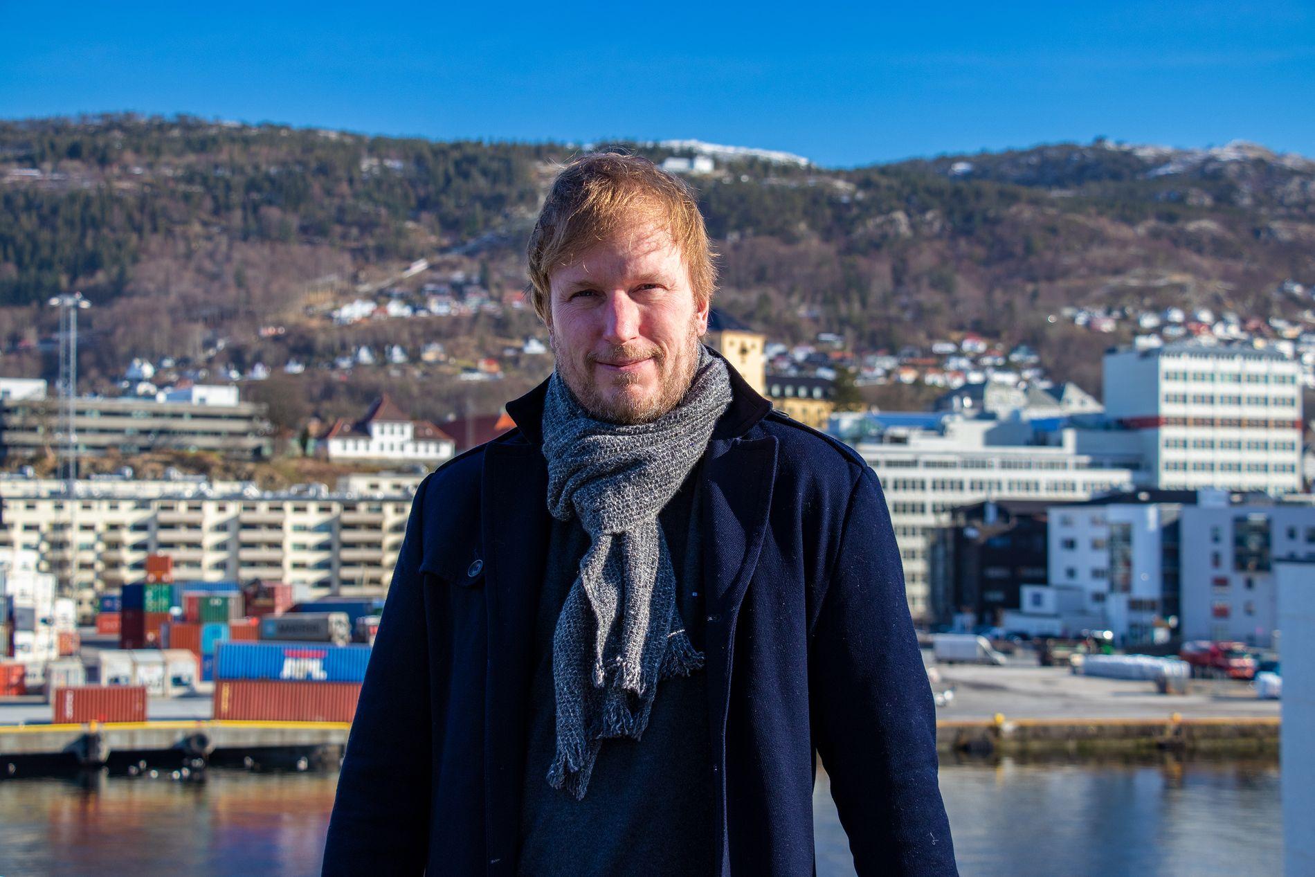 Erik Rødder, salgs- og markedssjef i AB Solutions.