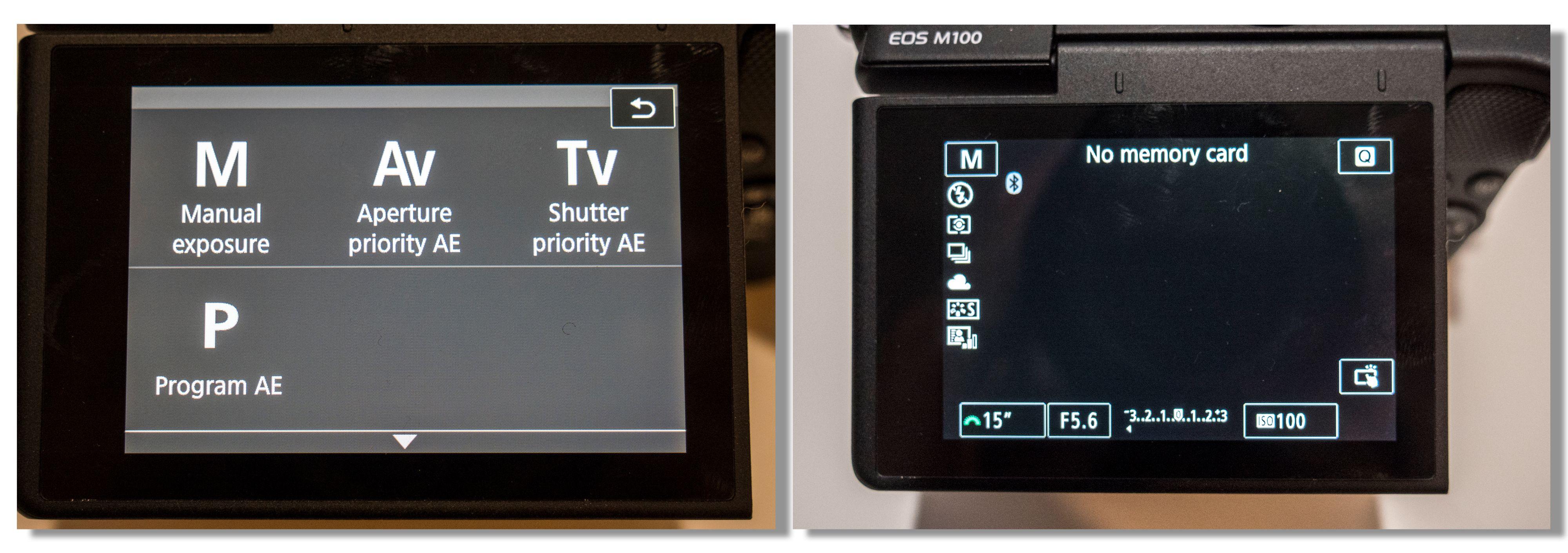 Manuelle kontroller finner du som regel på modushjulet på toppen av kameraet (se bildet av OM-D E-M10 III lengre opp), eller inne i en av menyene hvis kameraet ikker har eget modushjul. Bilde: Kristoffer Møllevik