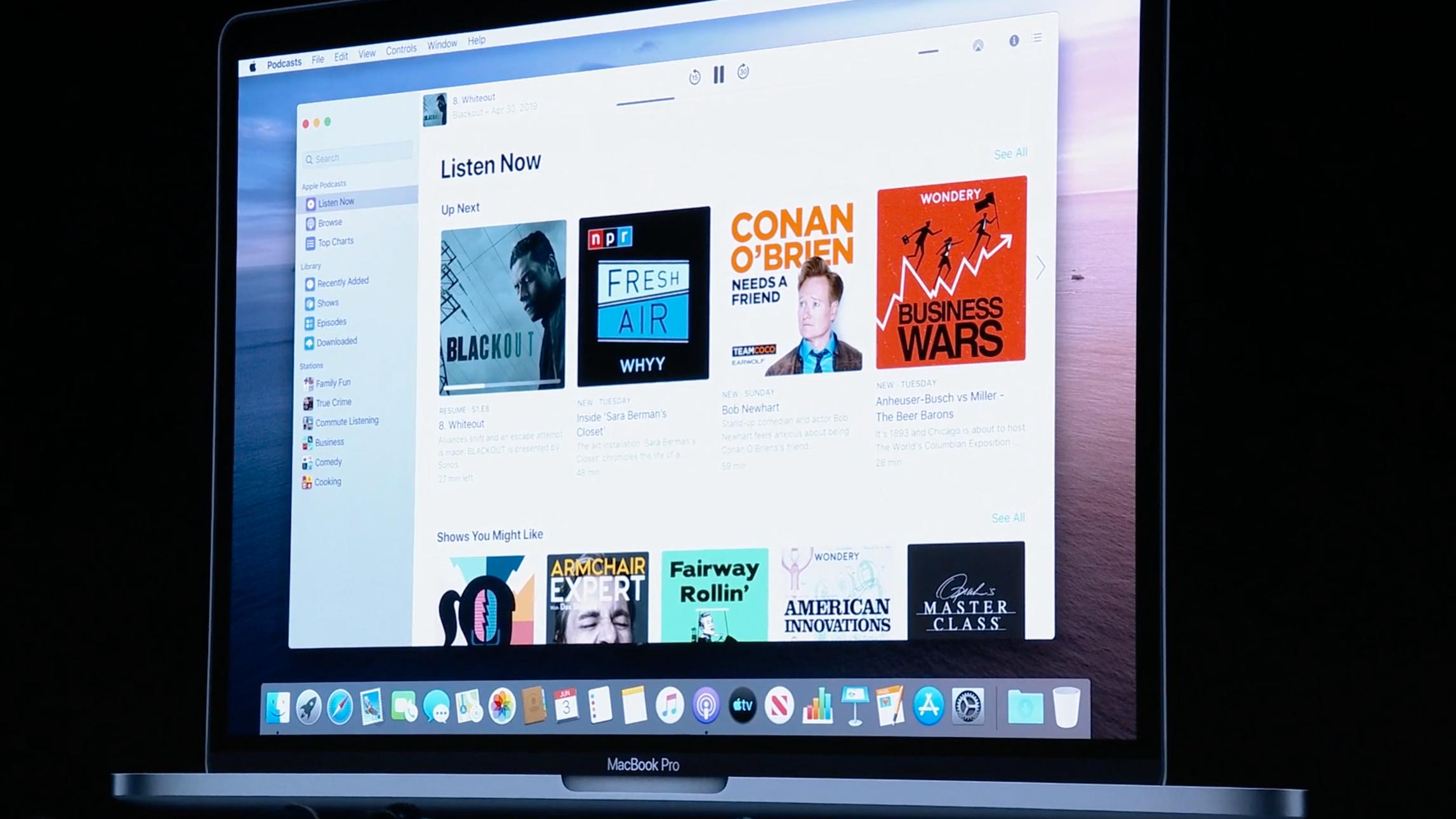 Apple dreper iTunes. Slik blir MacOS Catalina