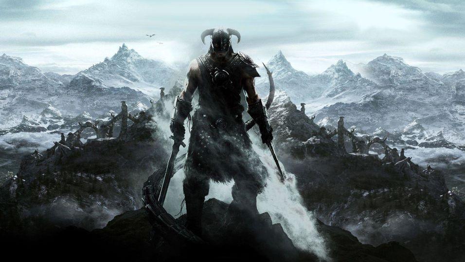 The Elder Scrolls Skyrim.