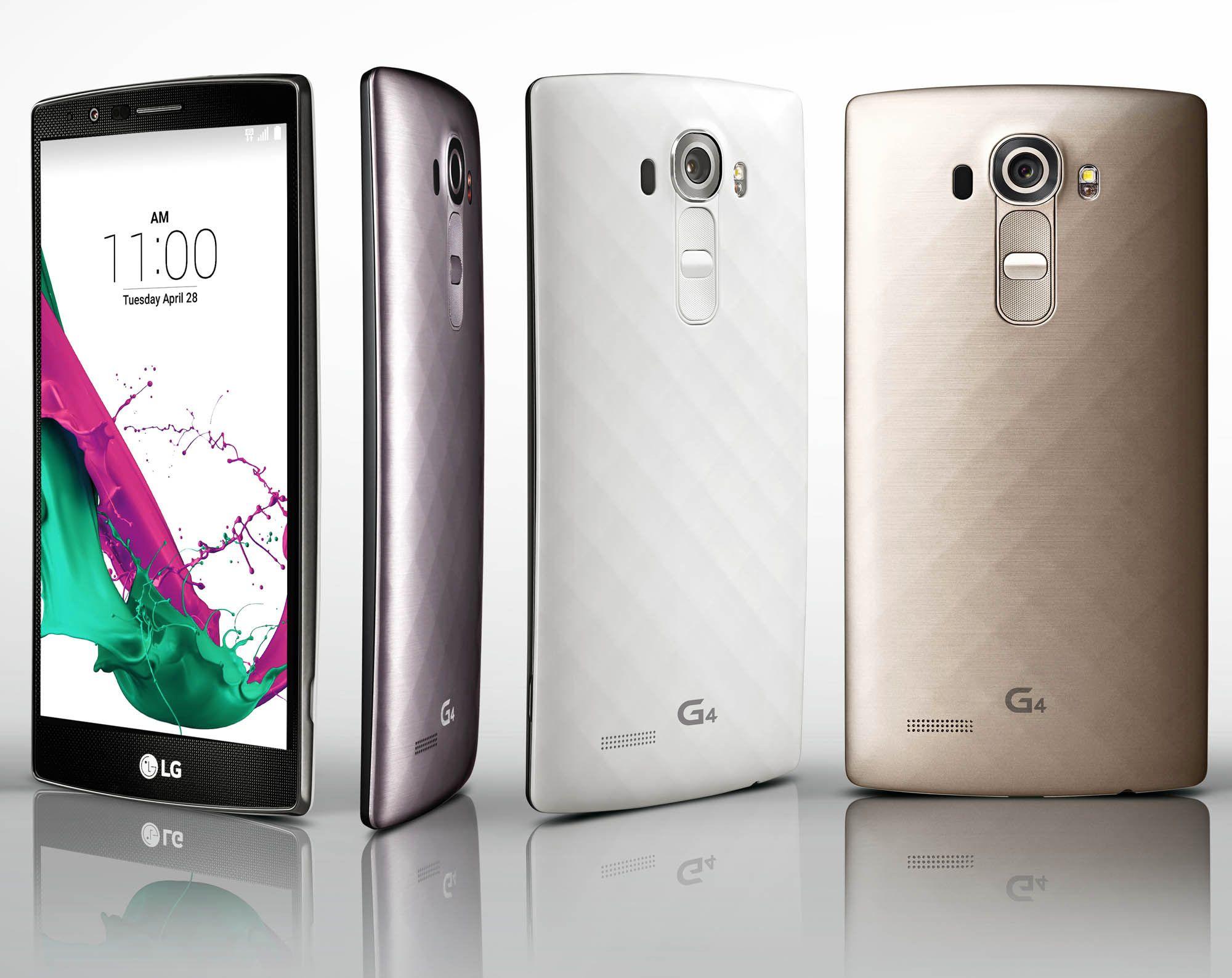 LG G4. Foto: LG