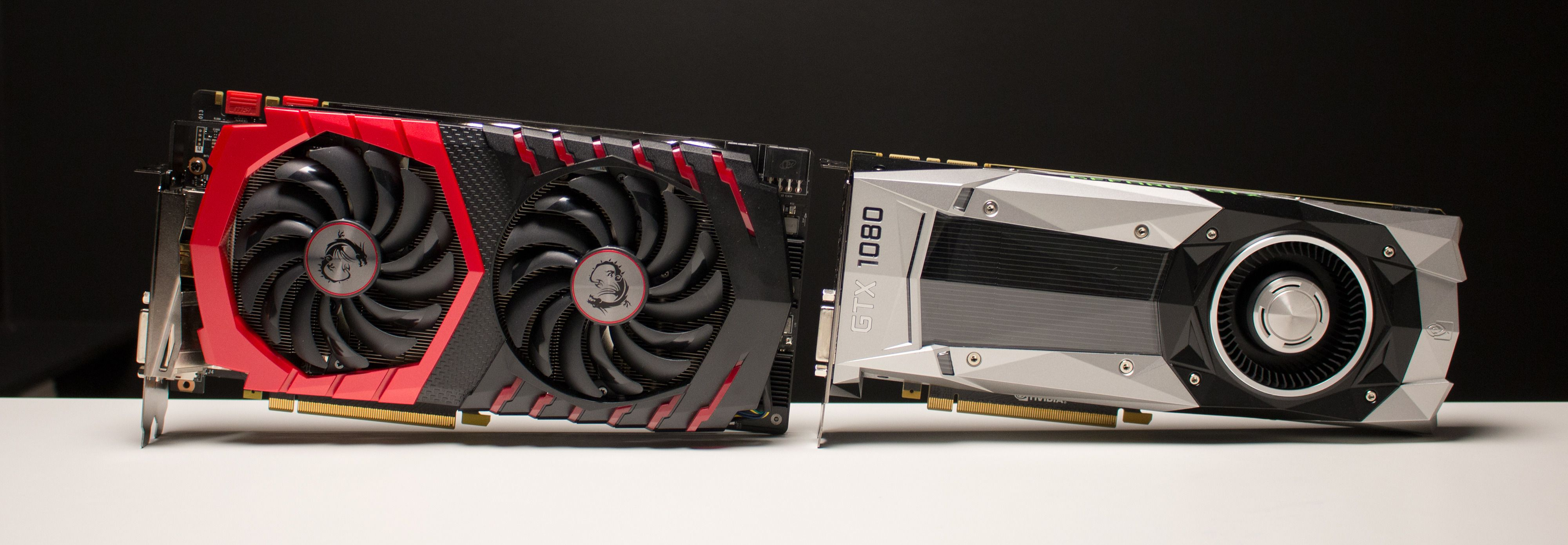 MSI GTX 1080 Gaming X møter Nvidia GTX 1080 FE.