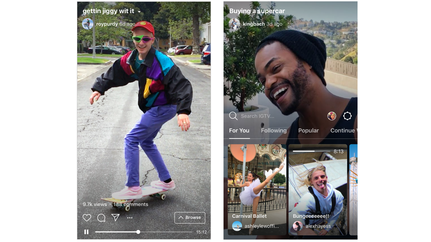 Instagram får fullverdig videotjeneste som gir deg timelange videoer