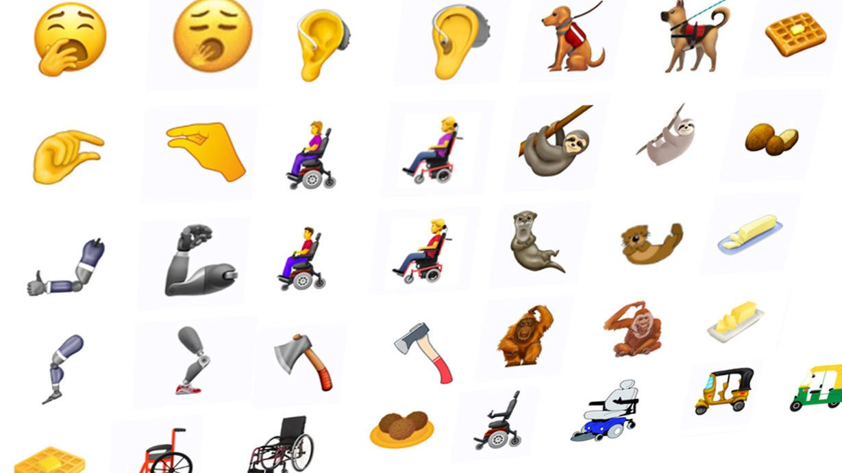 Dette er de nye emojiene som kommer