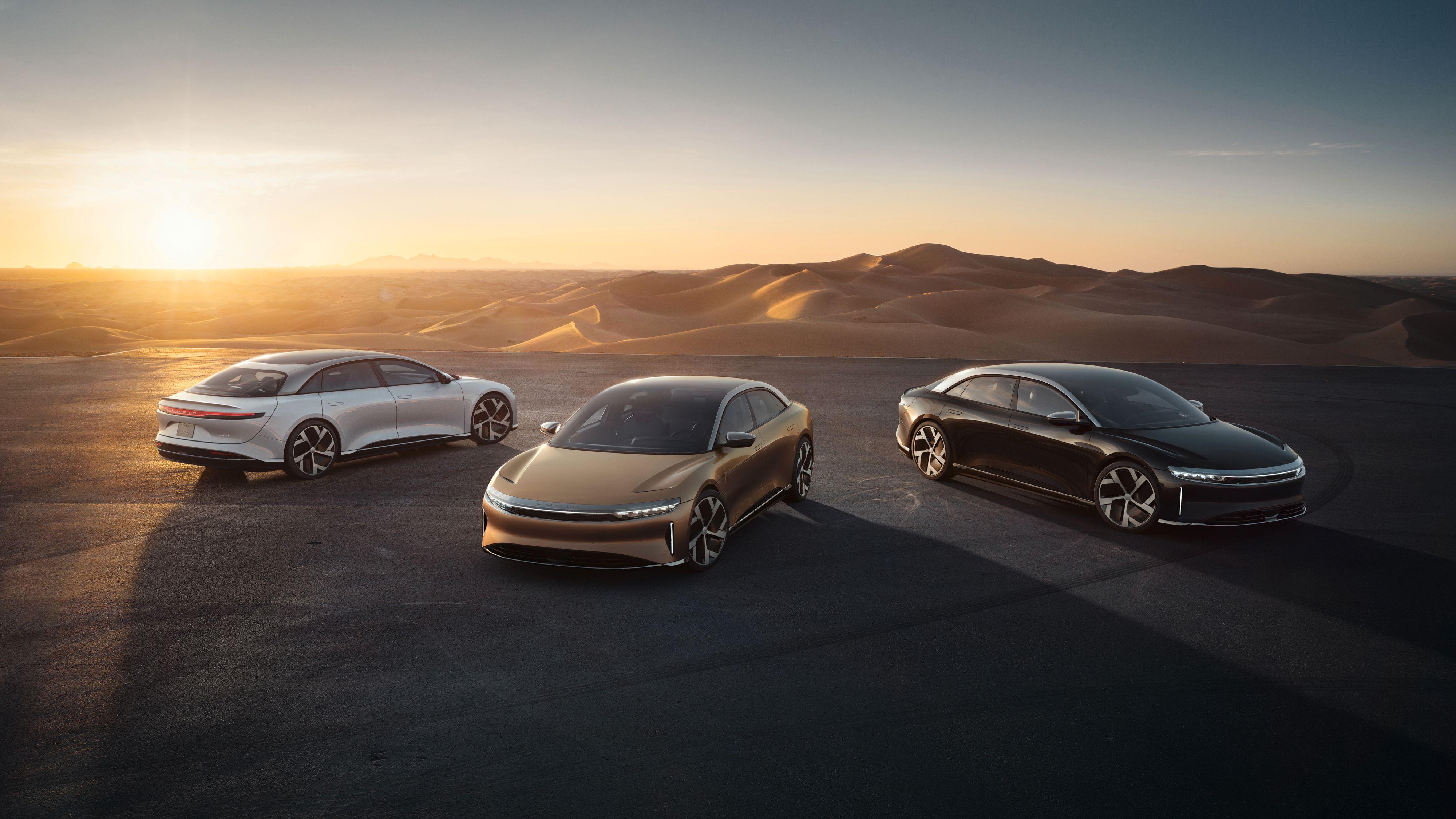 Innstegsversjonen av Lucid Air vil koste under 80.000 dollar – omtrent det samme som en Tesla Model X.
