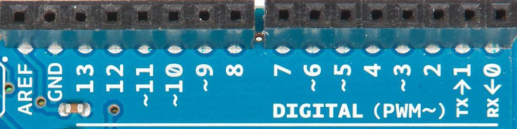 Arduino-pinner.Foto: Shutterstock