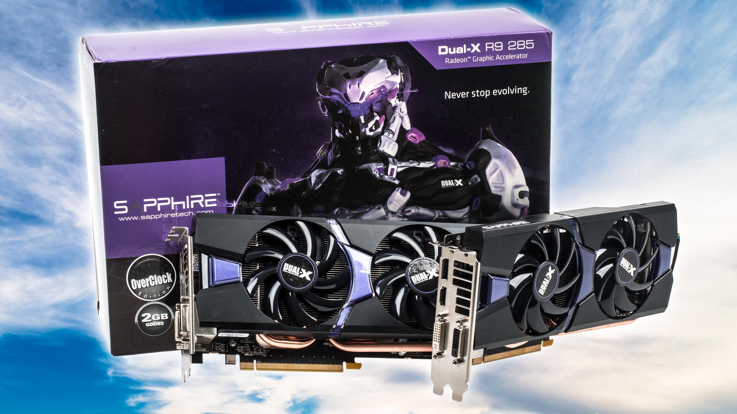 Sapphire Radeon R9 285 OC Dual-X 2 x Crossfire