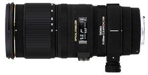 Sigma 70-200 mm F2.8 EX DG OS HSM.