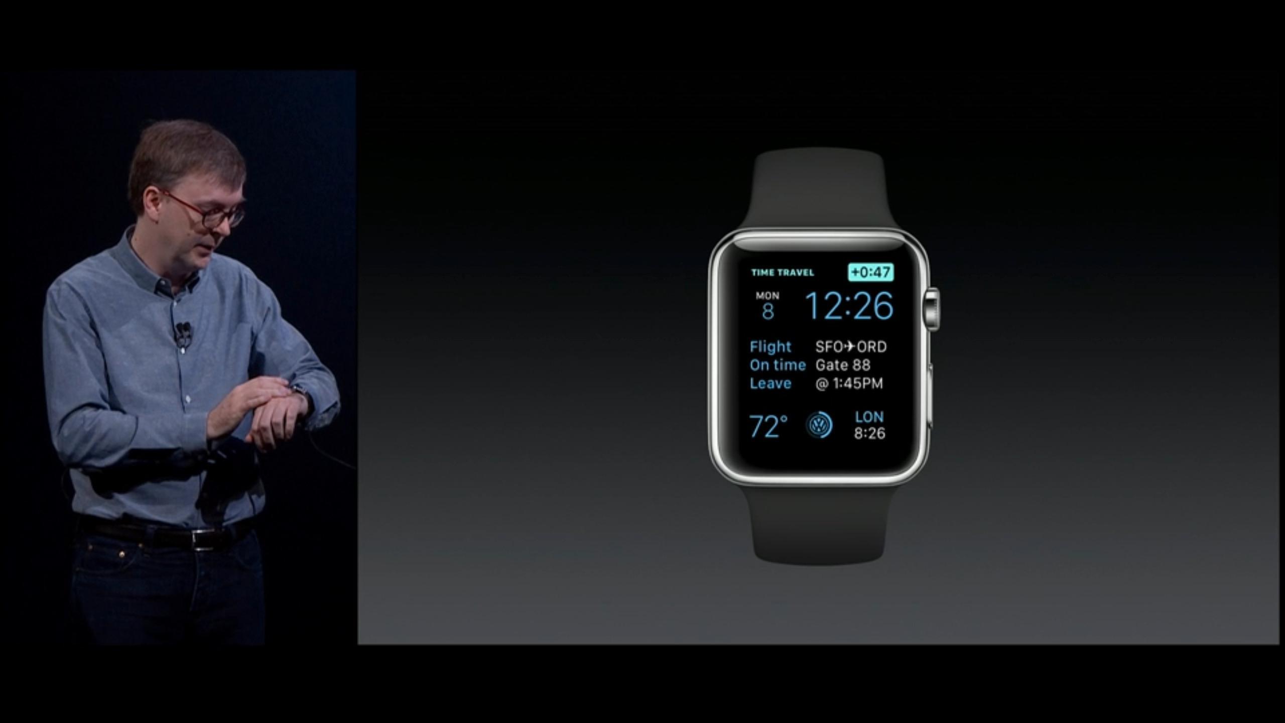 Time Travel ser ut til å være en av de mer spennende nye funksjonene på Apple Watch.