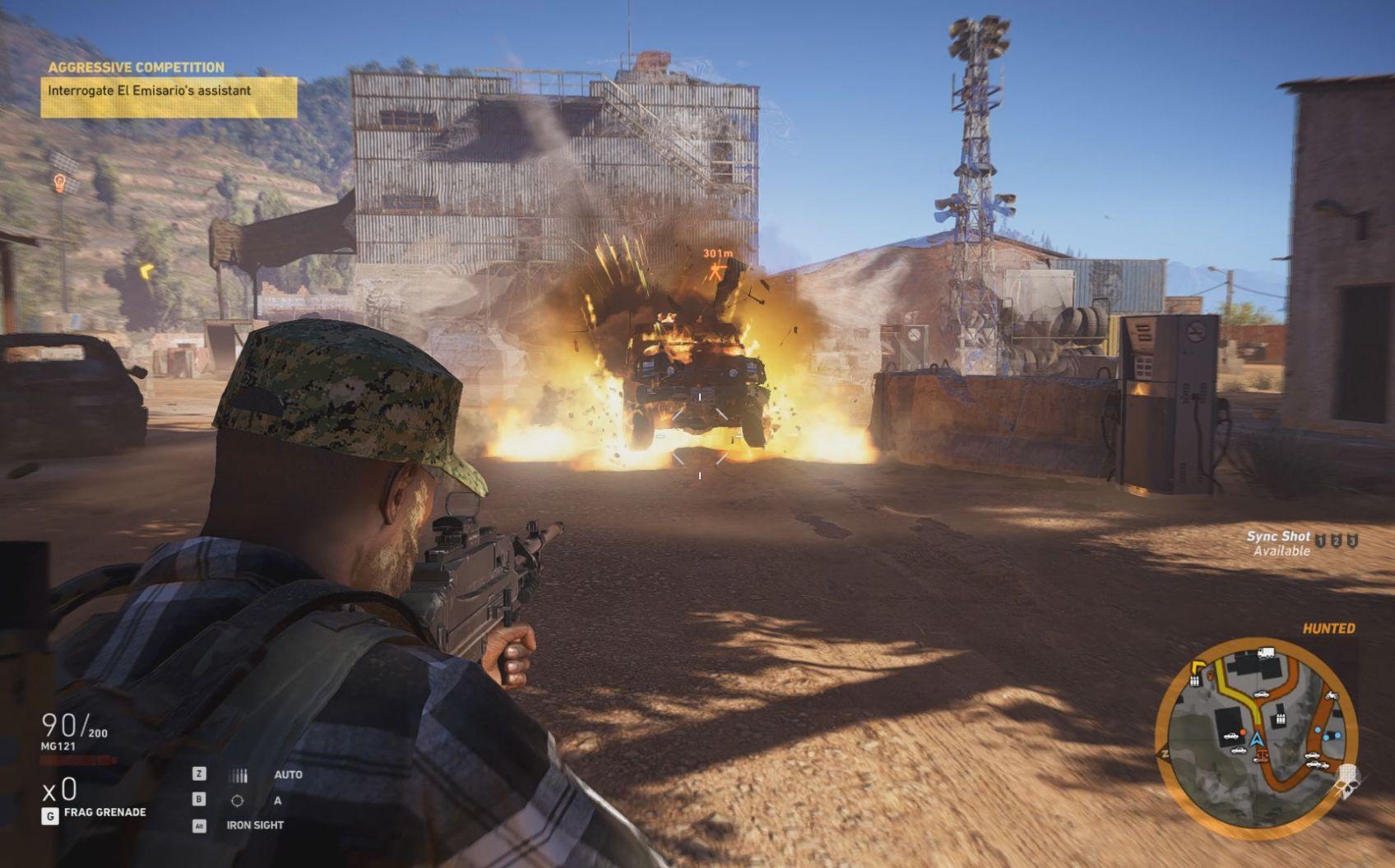 Spillet Ghost Recon Wildlands gir deg en stor, åpen sandkasse å leke deg i, men spillets Echo-system gjør at det allerede er nok klang fra før av, og vi trenger ikke mer fra G433.
