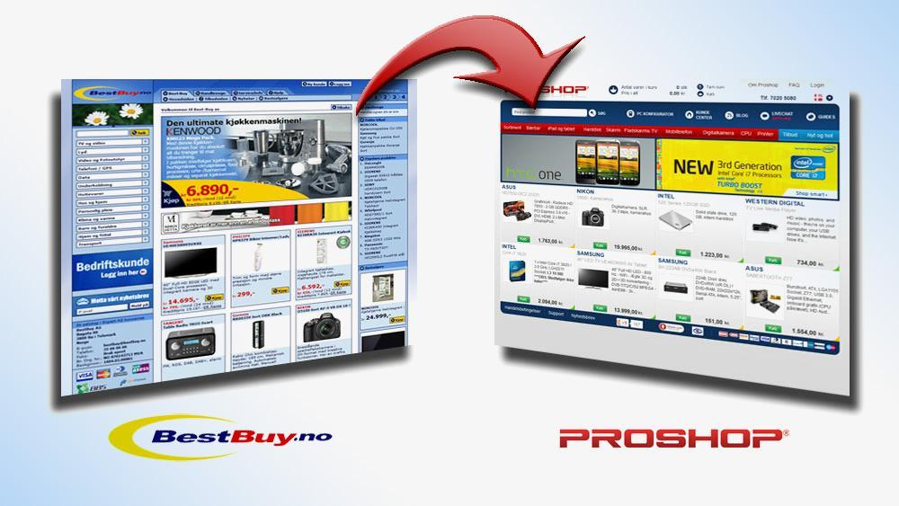Ny butikk i prisguiden: Proshop