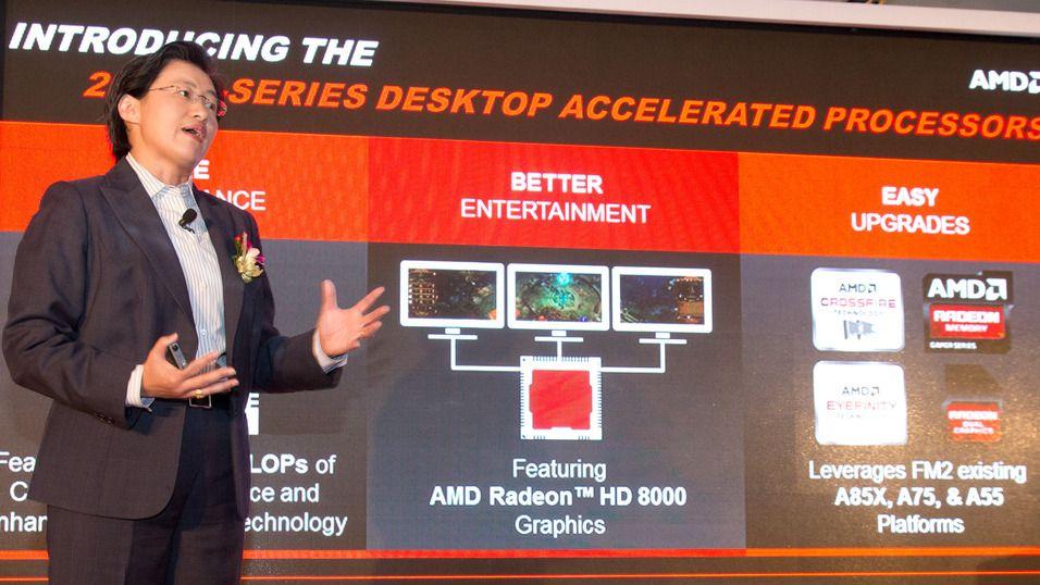 Computex: AMDs Lisa Su, Senior visepresident, ledet lanseringen.