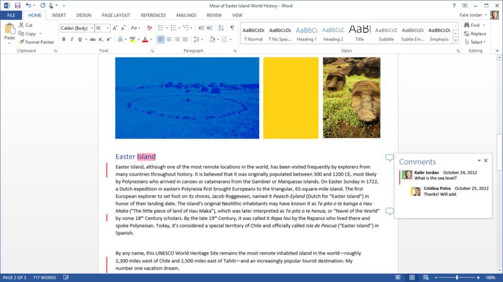 Slik ser nye Word ut.Foto: The Verge / Microsoft