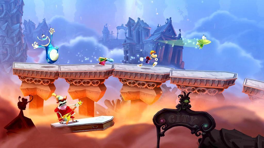 Selv om Rayman krever litt nøyaktighet når du hopper, gikk det smertefritt å spille det via Steam Link.