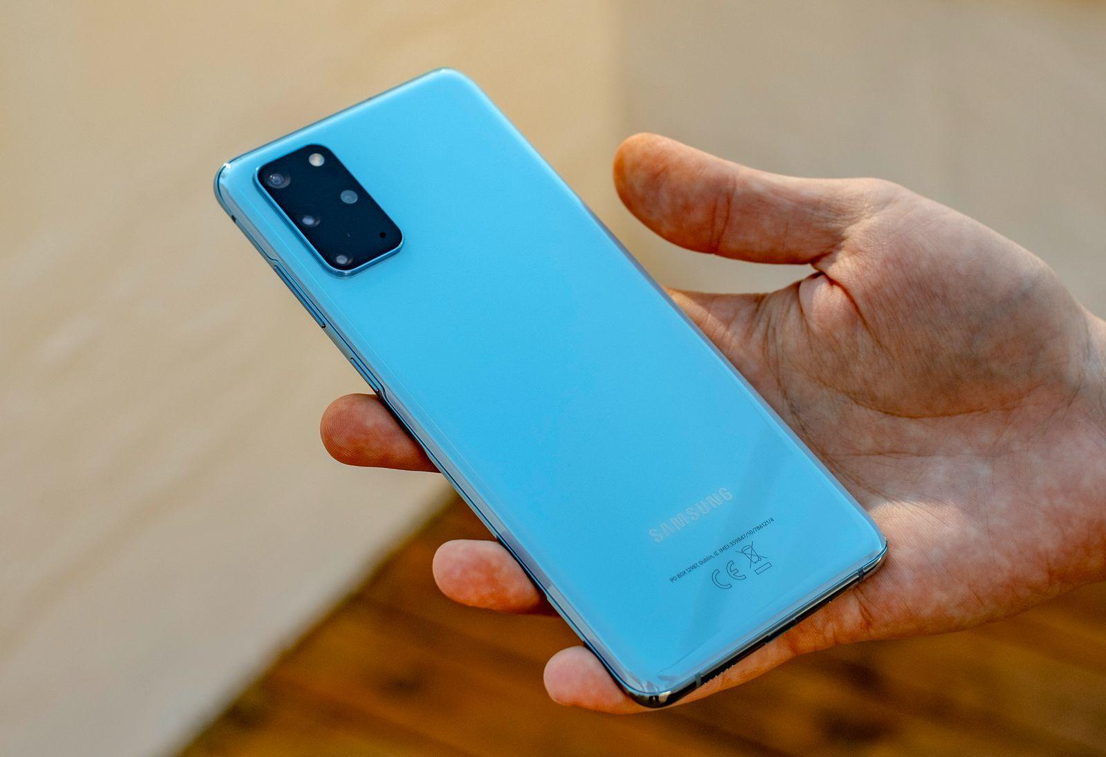 Samsungs Galaxy-telefoner solgte godt, men mye dårligere enn ellers.
