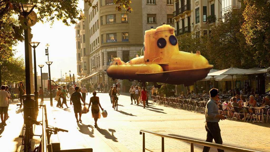 Illustrasjonsbilde av hvor realistisk Magic Leap-teknologien skal bli.Foto: Magic Leap
