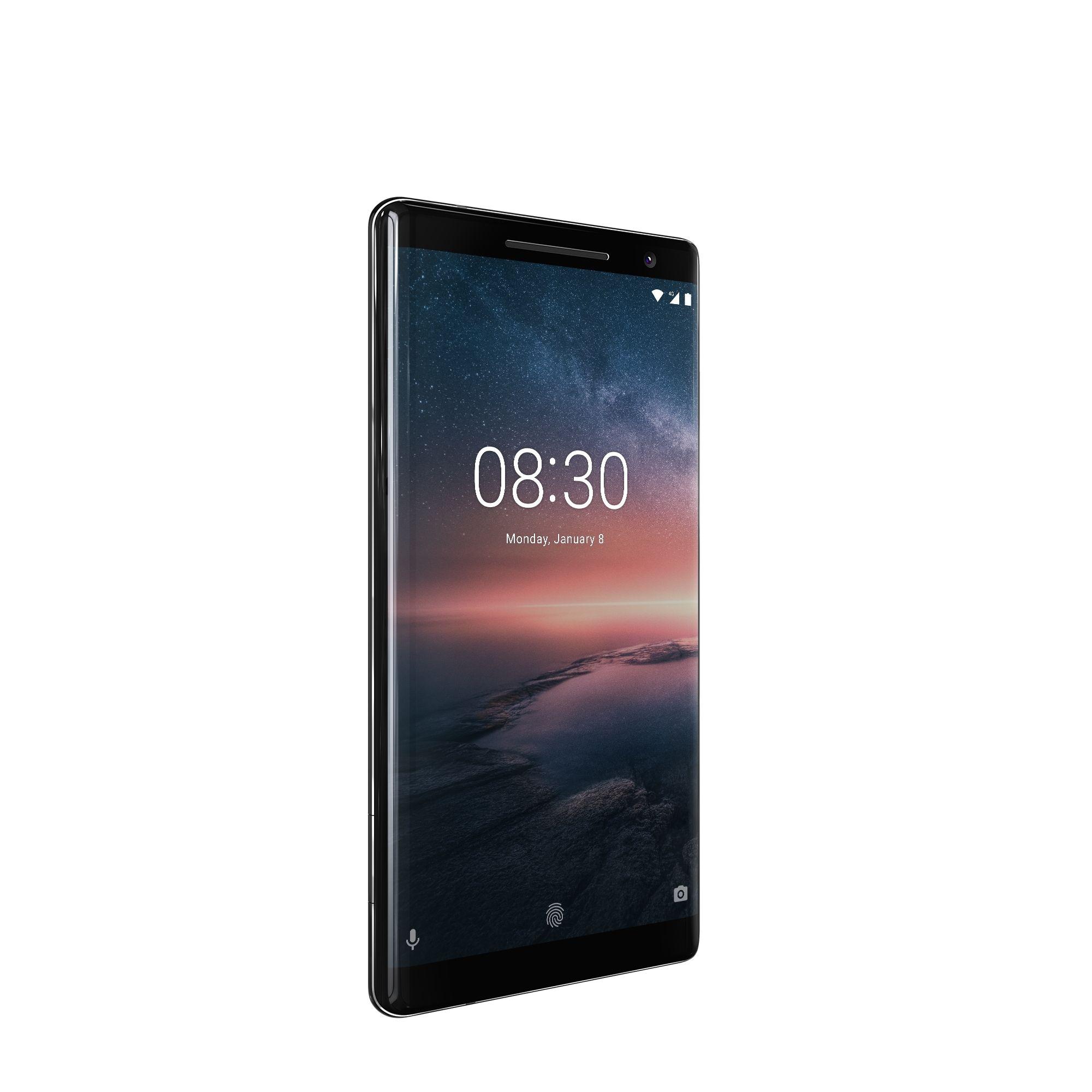 Nokia 8 Sirocco er den definitive toppmodellen i utvalget.