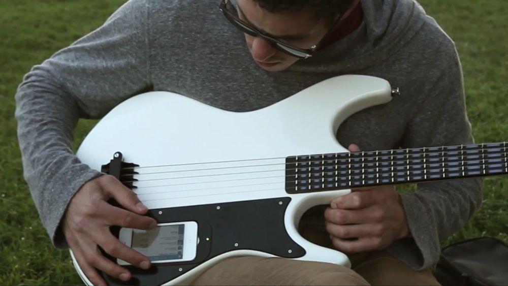 Denne gitaren er ikke som alle andre