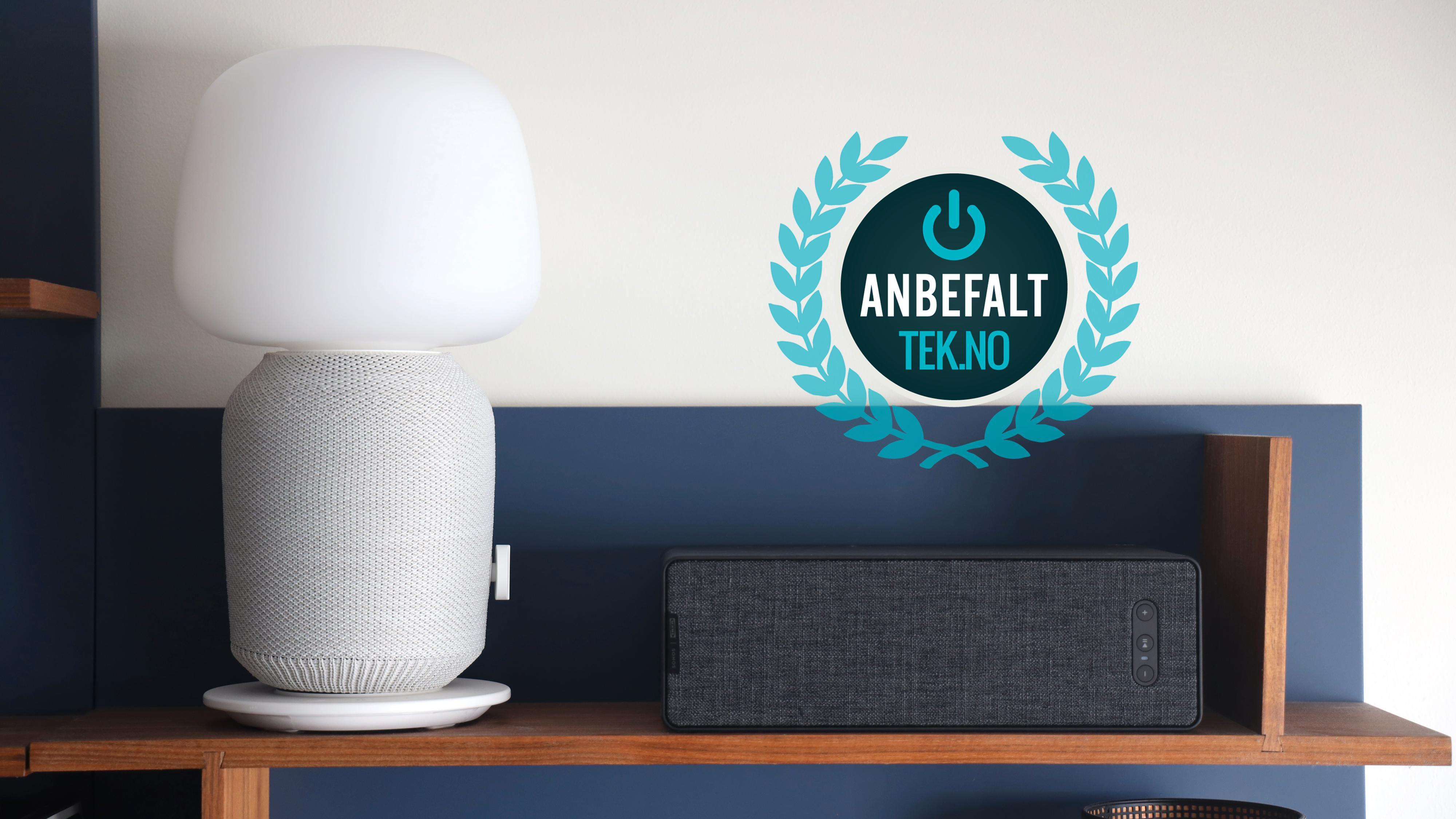 Spesielt bokhyllehøyttaleren fremstår som et meget godt kjøp, men også lampen er solid – om du liker designet, da.