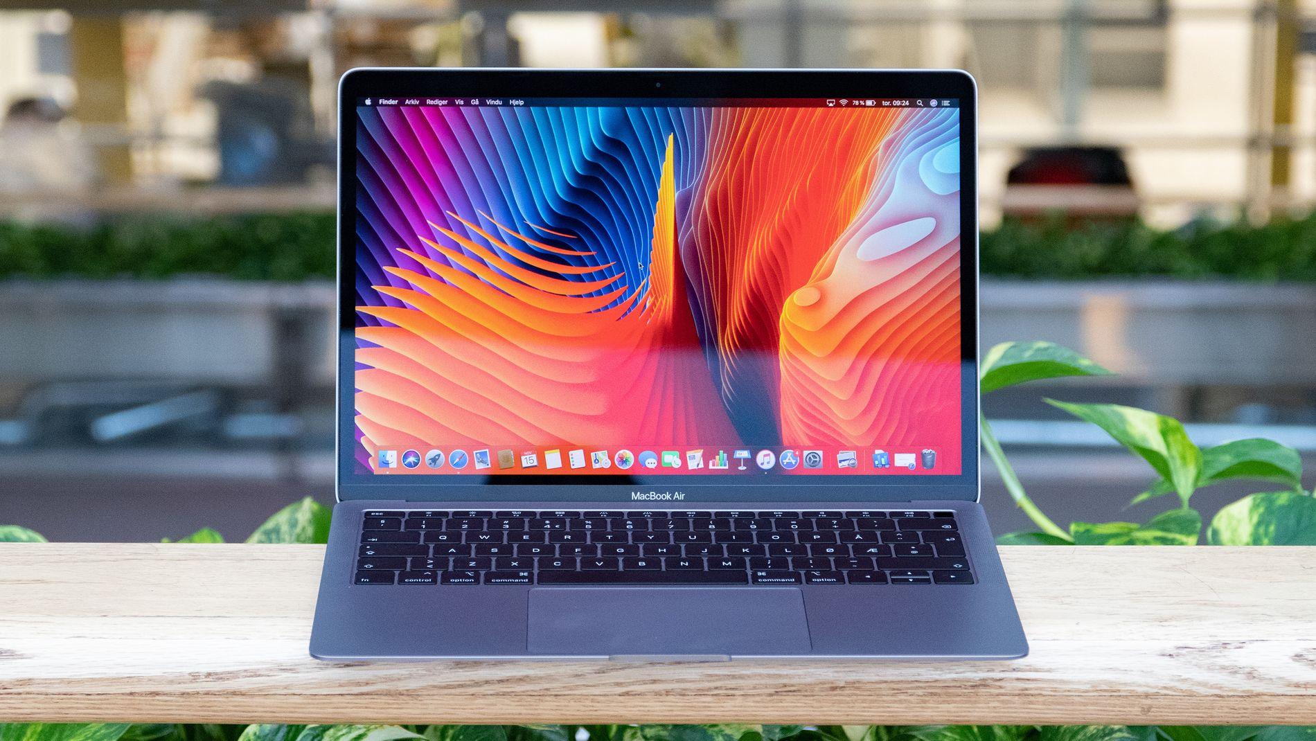 Apple MacBook Air (Sen 2018) Test Tek.no