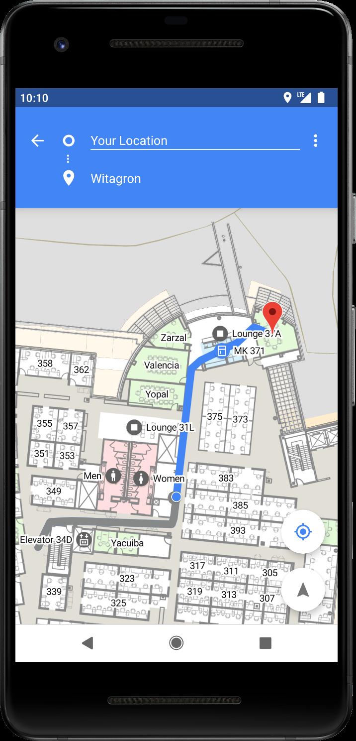 Google Maps innendørs? Ja takk!