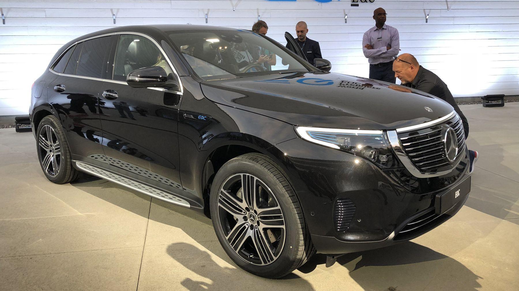 Mercedes tilbakekaller el-SUV