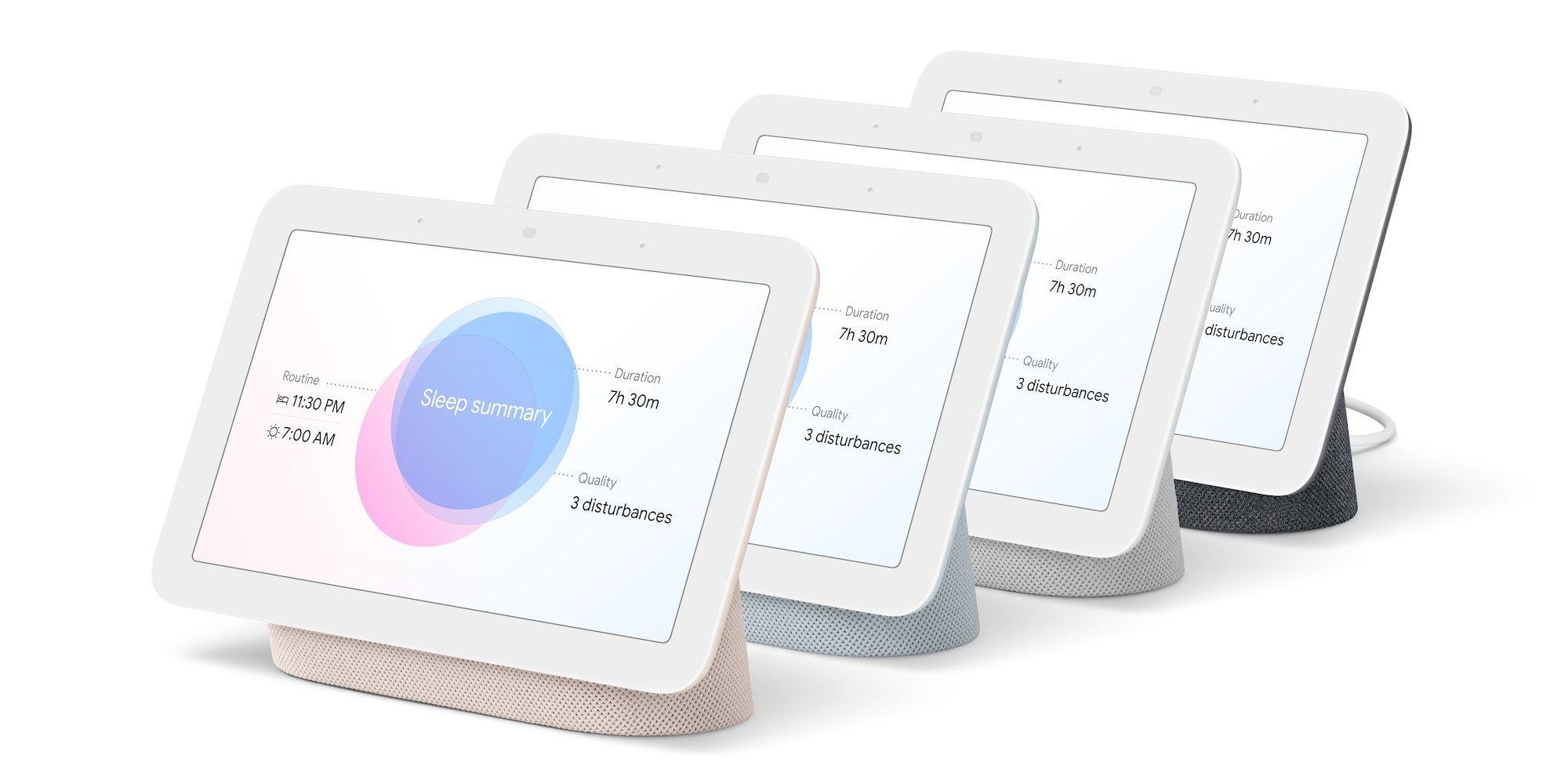 Nye Nest Hub kommer i fire ulike farger, men er ellers rimelig identisk med den forrige versjonen utenfra.