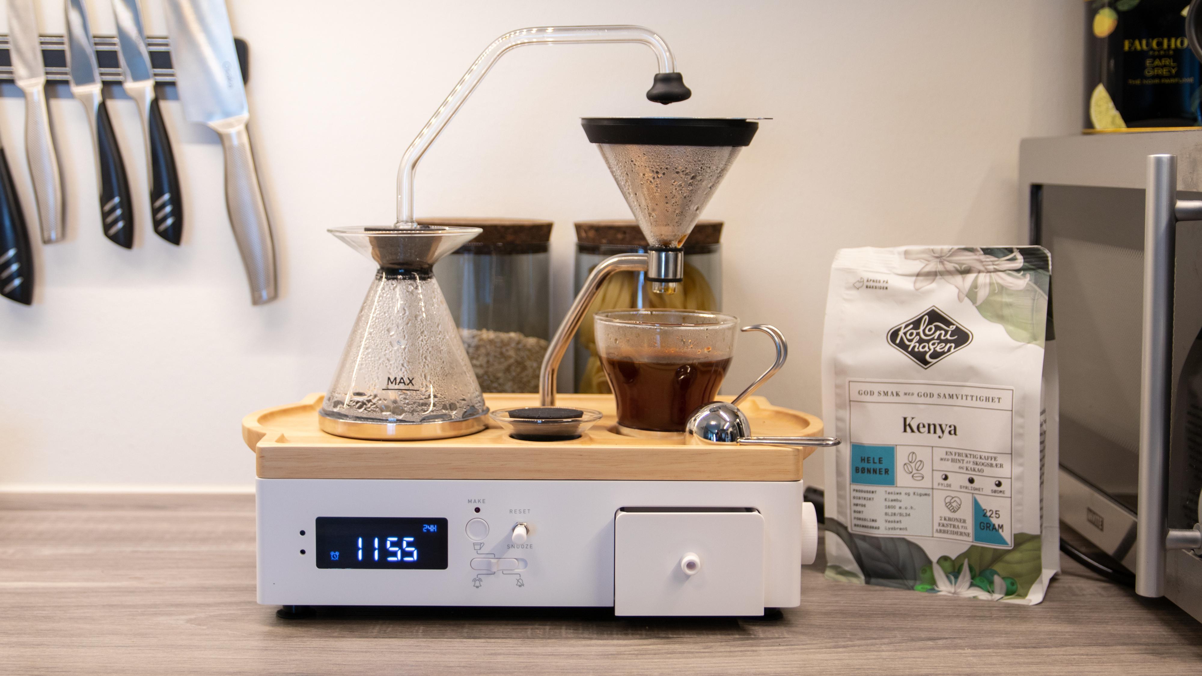 Barisieur kaffe-vekkerklokke