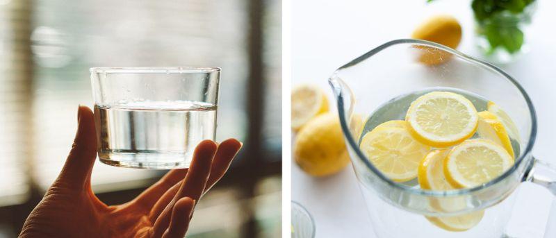 Vänta inte tills du är törstig – drick vatten regelbundet