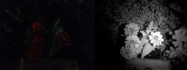 De innebygde infrarøde lysene gjør at Structure kan se i mørket.Foto: Occipital
