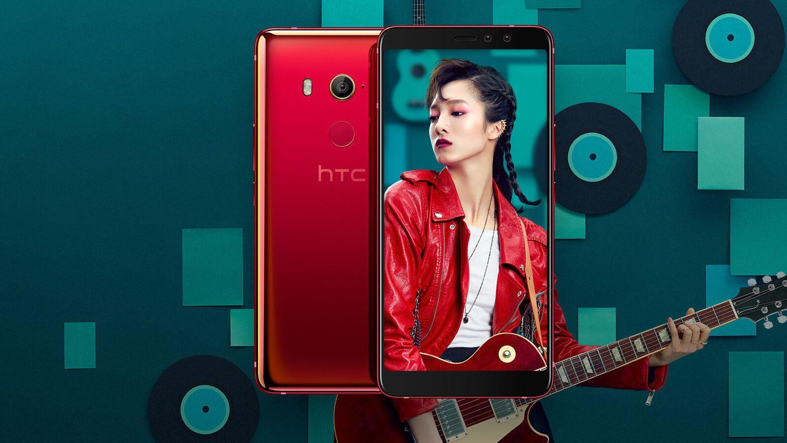 HTC slipper U11 Eyes – har massivt batteri og dobbelt selfie-kamera