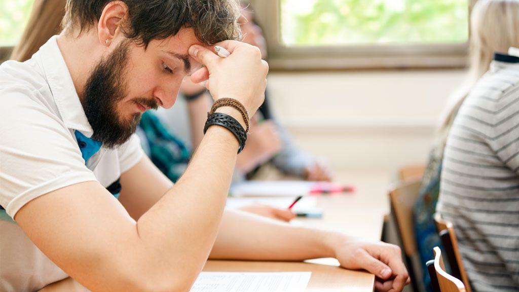 Unngå jernteppe på eksamen med riktig innstilling.Foto: Shutterstock