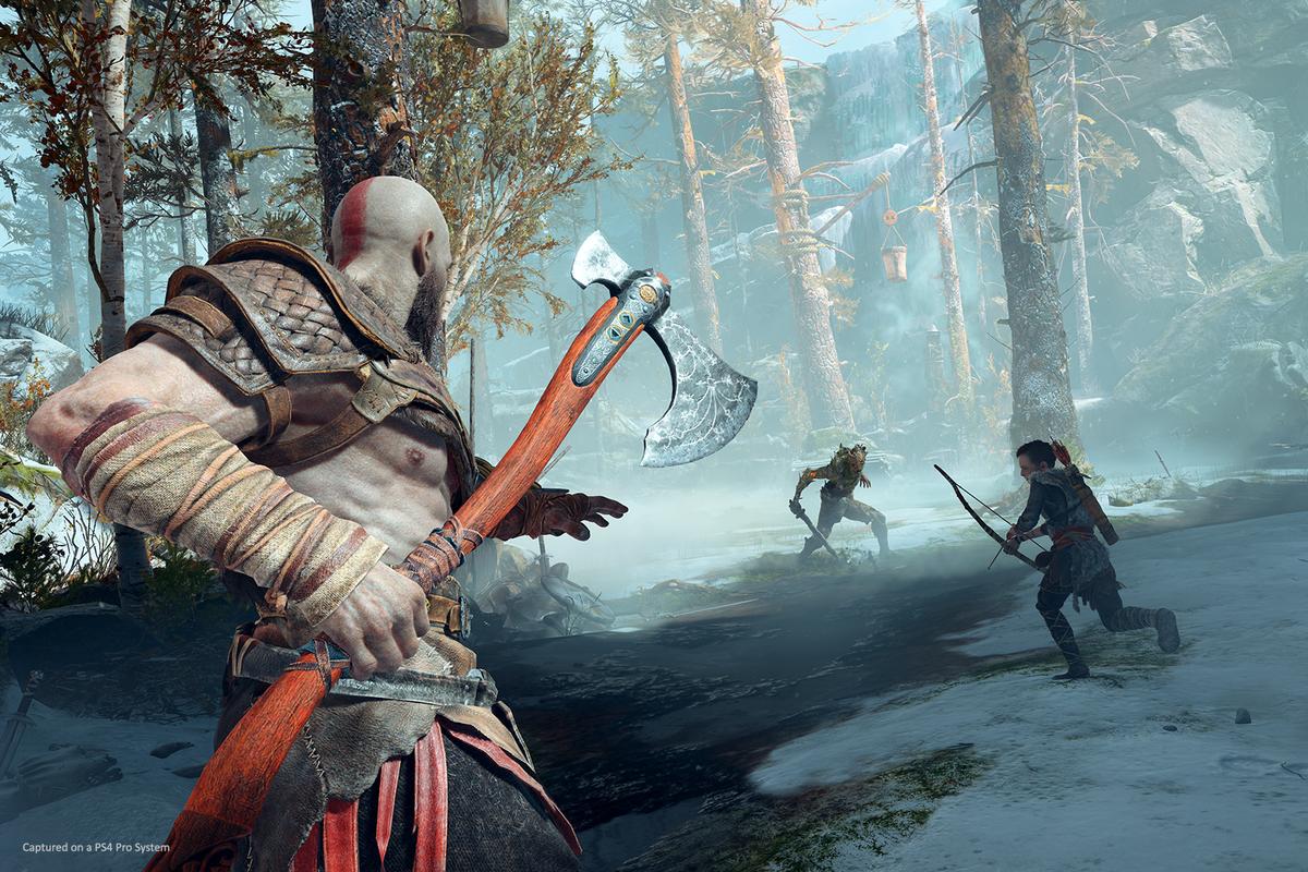 PS4-spillet God of War kan du spille på neste Playstation takket være bakoverkompatibilitet.