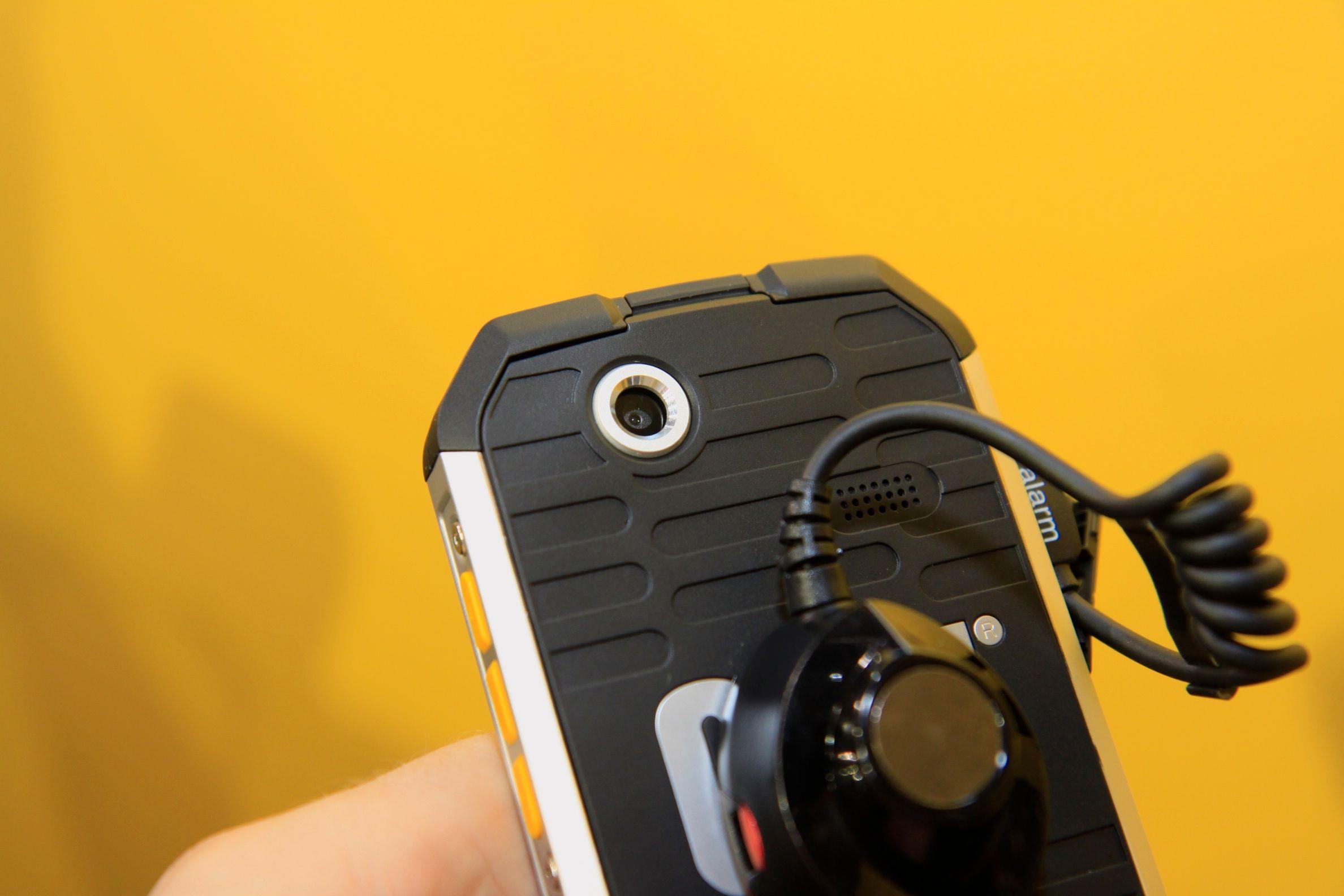 Kameraet har en oppløsning på fem megapiksler.Foto: Kurt Lekanger, Amobil.no