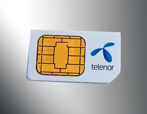 Vær forsiktig når du bytter SIM-kort. Kortet huser blant annet kontaktlisten din.