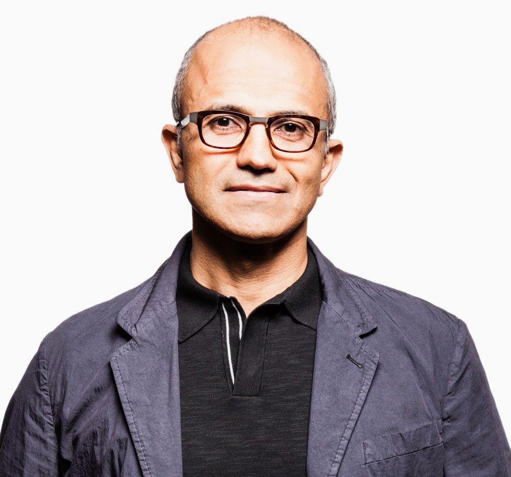 Den nye Microsoft-sjefen Satya Nadella har ikke ville sagt noe om hva navnet vil være. .Foto: Microsoft