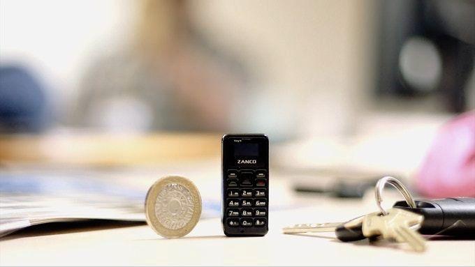 Denne telefonen er på størrelse med en fyrstikkeske