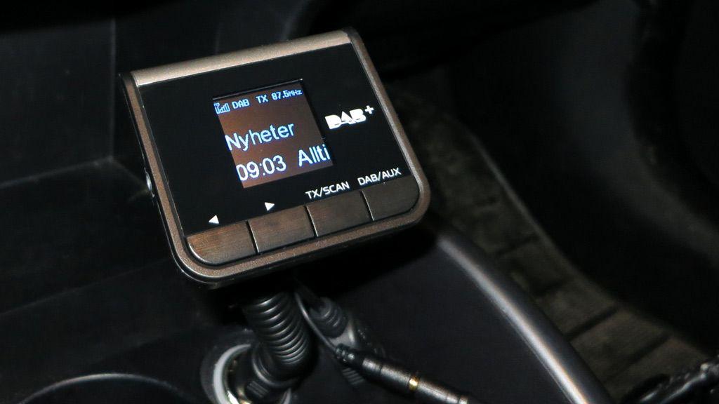 Tiny Audio C2 DAB-adapter