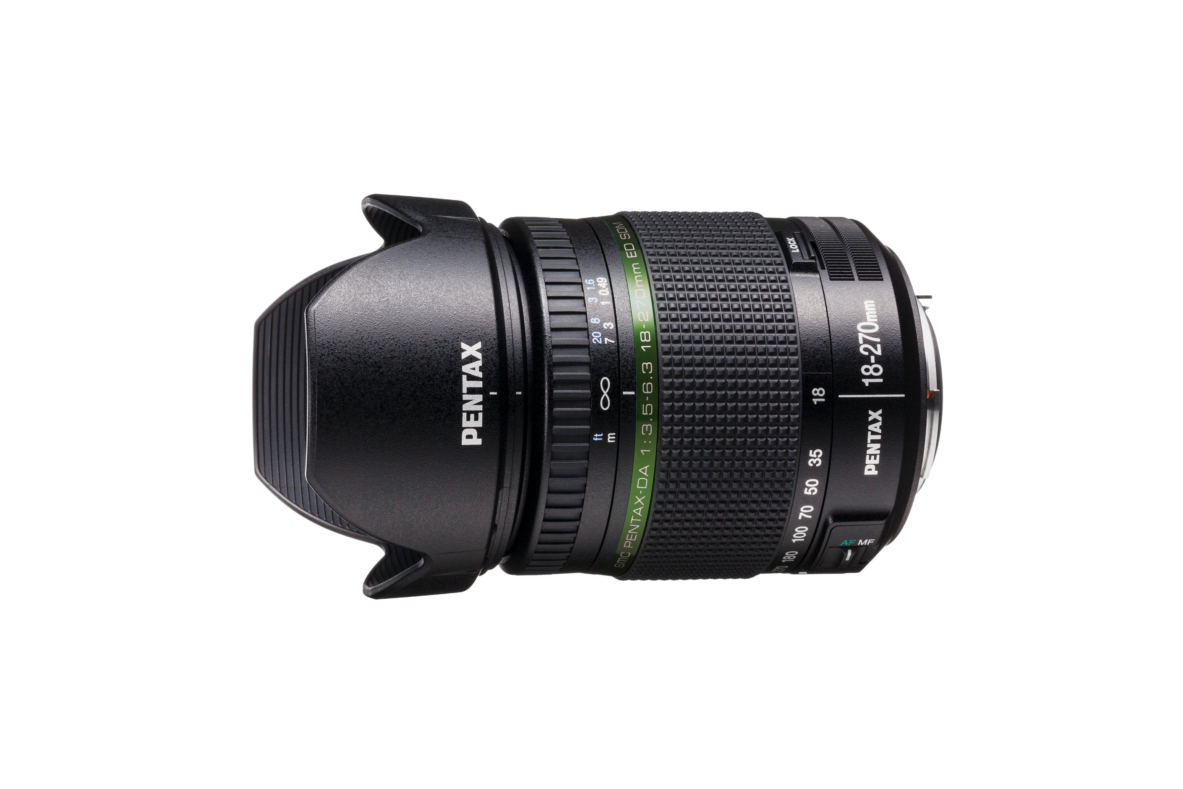 Pentax DA 18-270mm f/3.5-6.3 ED SDM.Foto: Pentax