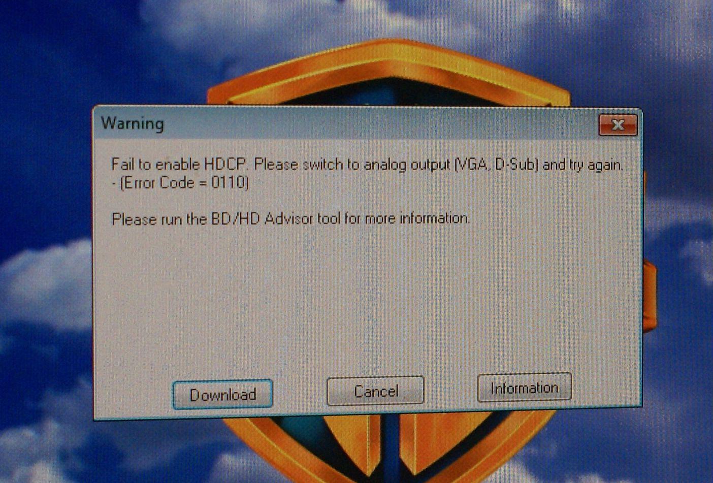 Heisann HDCP!