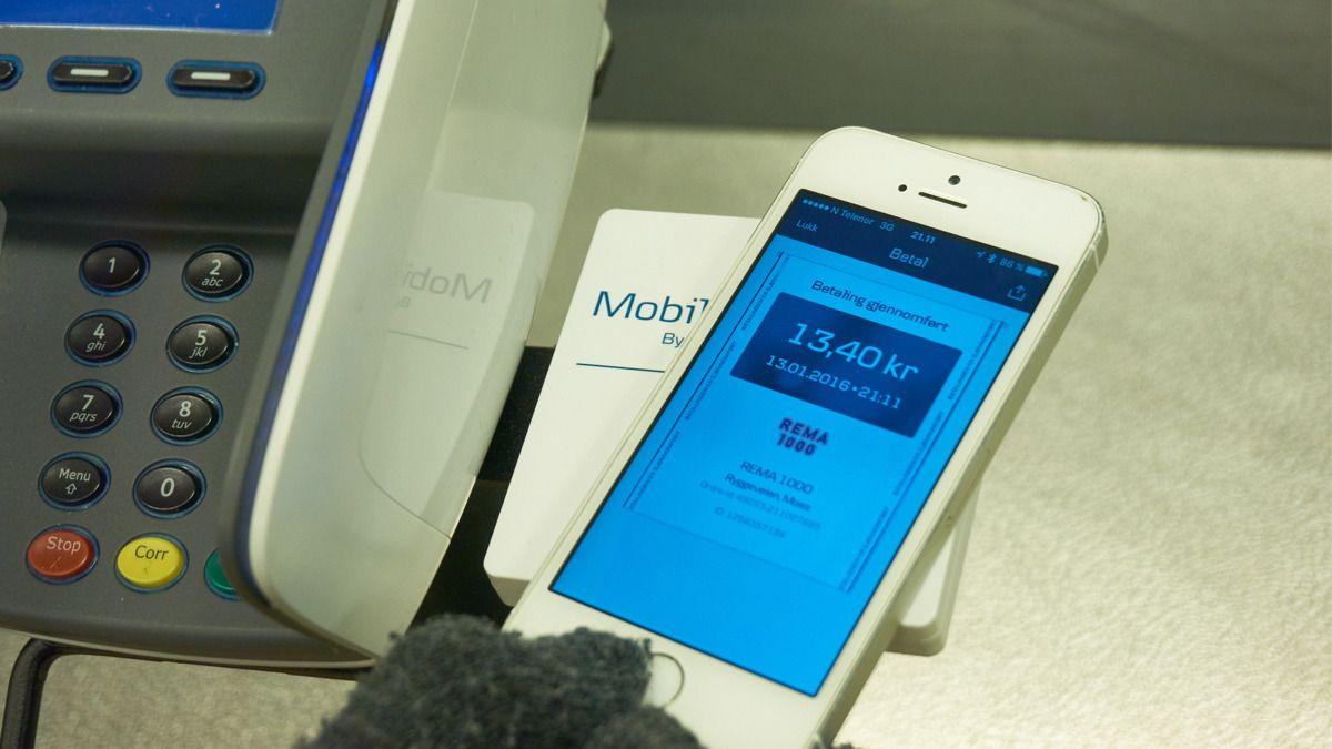 MobilePay på Rema 1000