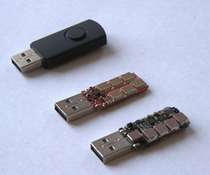 Dette er den dødelige USB-pinnen. Foto: Dark Purple