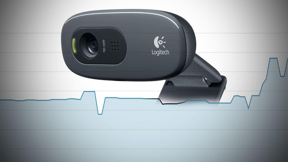 Logitechs C270-kamera har skutt til himmels i pris hos enkelte butikker. Det koster vanligvis mellom 200 og 300 kroner.